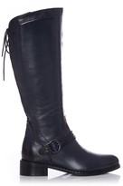 Moda In Pelle Weera Navy Leather