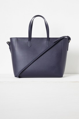 French Connection Mia Recycled Leather Zip Tote Bag