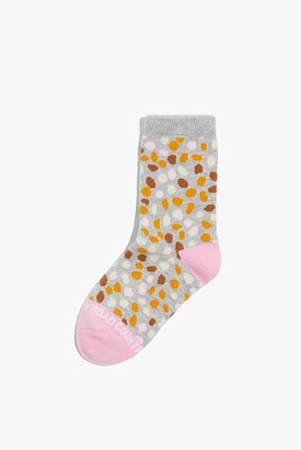 Country Road Leopard Sock
