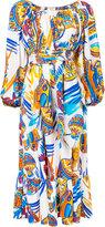 Maryam Nassir Zadeh Villabolos print 'Eugenia' dress - women - Silk/Cotton - 2