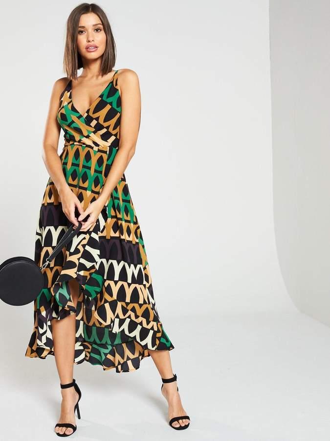 0b83390320 Green Dip Hem Dress - ShopStyle UK