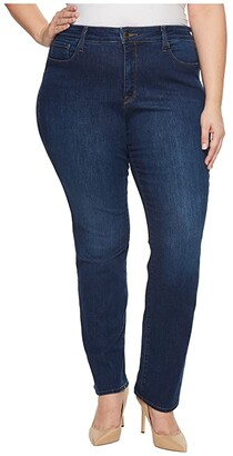 NYDJ, Plus Size Size Plus Size Marilyn Straight Jeans in Cooper (Cooper) Women's Jeans