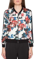 Willow & Clay Floral Print Bomber Jacket