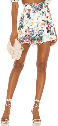 Zimmermann Allia High Waisted Short