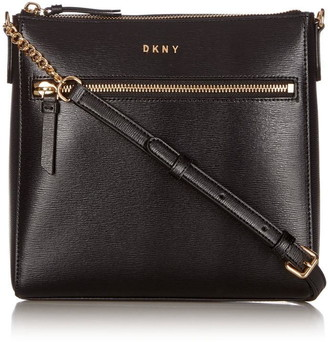 DKNY Top Zip Pocket Cross Body Bag