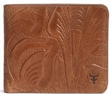 Trask Men's 'Jackson' Slimfold Italian Steer Leather Wallet - Brown