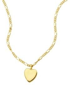 ADORNIA Figaro Chain Heart Necklace