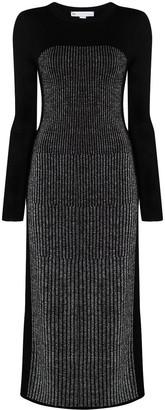 Y-3 Metallic Knitted Dress