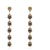 Gucci Tiger-head spike-embellished earrings