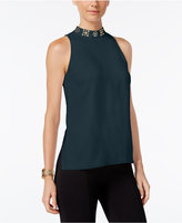 MICHAEL Michael Kors Embellished High-Low Tunic