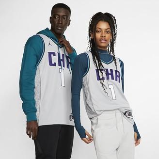 Nike Men's Jordan NBA Swingman Jersey Malik Monk Hornets City Edition