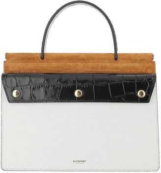 Burberry Title Small Leather Bag