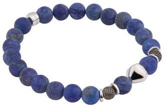 Tateossian Beaded Lava Stone Bracelet