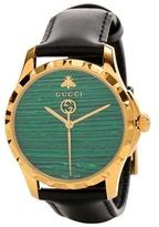 Gucci Le Marché des Merveilles 38mm leather watch