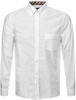 Aquascutum London Bevan Classic Oxford Shirt White