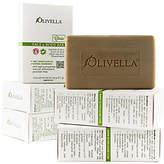 Olivella Set of 6 100% Virgin Olive Oil Beauty Bars