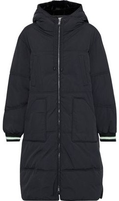 BA&SH Angie Faux Fur-trimmed Quilted Shell Hooded Coat