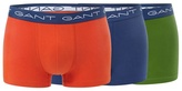 Gant Pack Of Three Assorted Cotton Stretch Trunks
