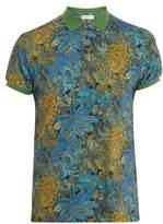 Etro Paisley-print Cotton-piqué Polo-shirt