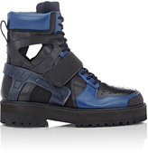 Hood by Air MEN'S AVALANCHE PLATFORM BOOTS
