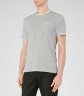 Reiss Braga Fine Stripe T-Shirt