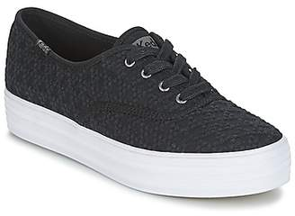 Keds TRIPLE EMBROIDERED TRIANGLE women's Shoes (Trainers) in Black