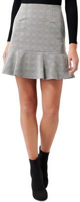 Forever New Lina Flippy Ponte Mini Skirt