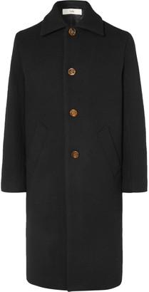 Séfr Ian Wool-blend Overcoat - Black