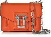 Proenza Schouler Hava Pumpkin Leather Crossbody