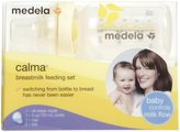 Medela Calma Breastmilk Bottle Base & Nipple Set - Yellow - 5 oz