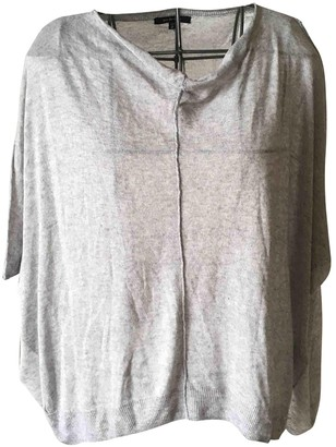 Pas De Calais Grey Cashmere Knitwear for Women