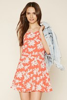 Forever 21 Contemporary Floral Cami Dress