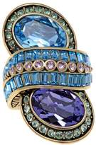"Heidi Daus High Design"" Crystal-Accented Knuckle Ring"