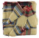 ABC Scarf, Women's Hot Sell Wool Blend Blanket Oversized Tartan Scarf Wrap Shawl Plaid Checked Pashmina