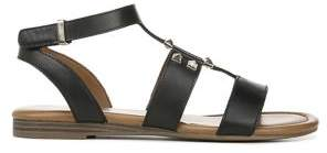 Franco Sarto Genova Leather Strappy Sandals