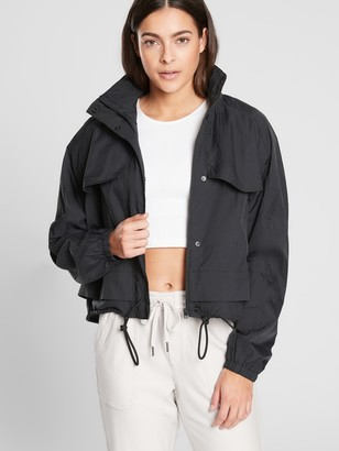 Athleta Canopy Parachute Jacket Short