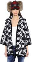 DSQUARED2 Geometric Wool Blend Jacquard Sweater