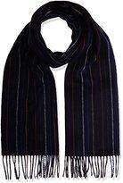 Gant Men's O. Multistripe Lambswool Striped Scarf