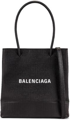 Balenciaga XXS Shopping Tote in Black | FWRD