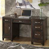 Home Styles Crescent Hill Pedestal Desk