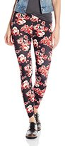 Eye Candy Junior's Peached Printed Legging
