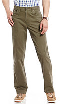 Roundtree & Yorke Casuals Straight Fit Twill Pants