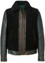Prada shearling leather jacket