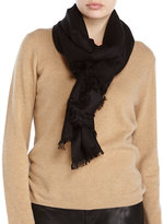 Saachi Cashmere Wool-Blend Scarf