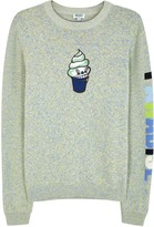 Kenzo Green Ice Cream Cotton Jumper