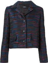 Jil Sander Navy jacquard jacket