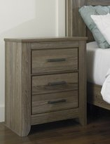 Signature Design by Ashley B248-92 Zelen Collection Nightstand, Warm Gray