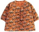 Caramel Baby & Child Baby Icelandite Floral Velvet Jacket