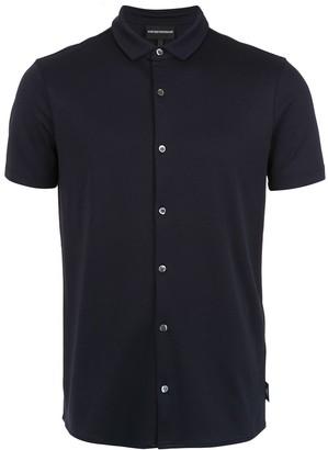Emporio Armani Buttoned Polo Shirt