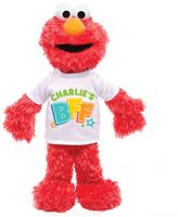 Sesame Street Elmo BFF Plush Toy in Red